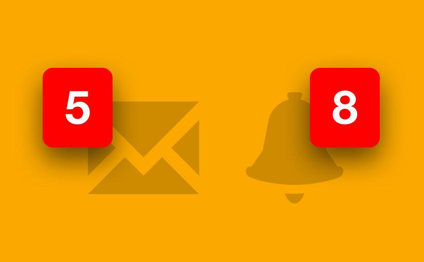 Freelo TIP #3: Notifikace emailem aavíza