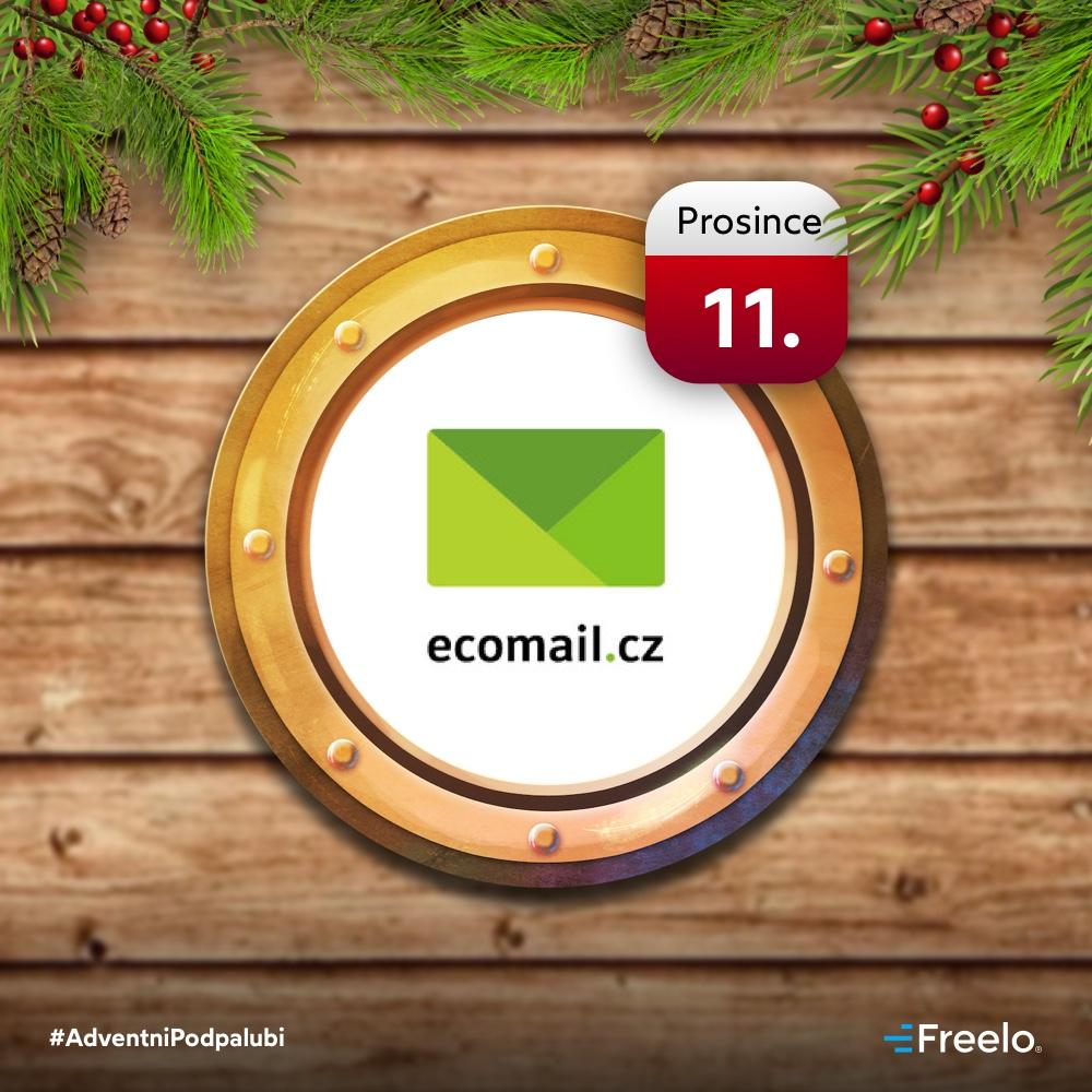 Nástroj Ecomail.cz jako jedenácté adventní okénko.