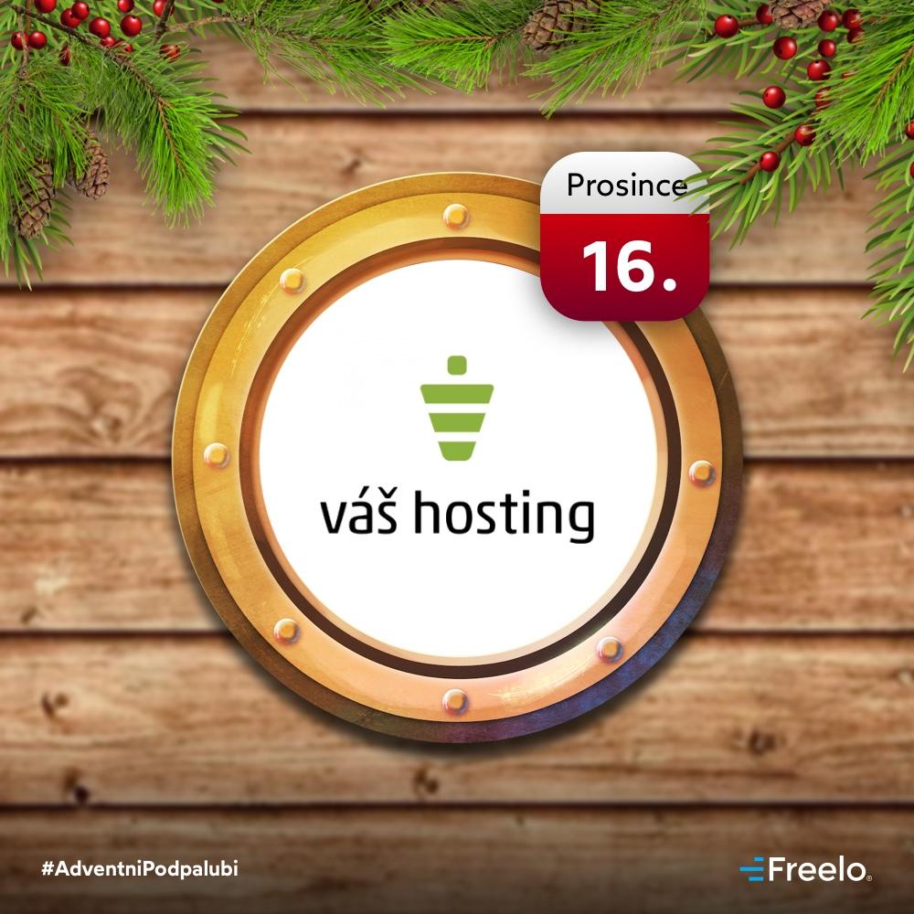 Správa serverů u Váš hosting jako další otevřené okénko adventního kalendáře.